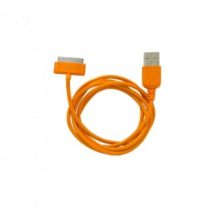Кабель CBR 30-pin to USB CB-273 Orange